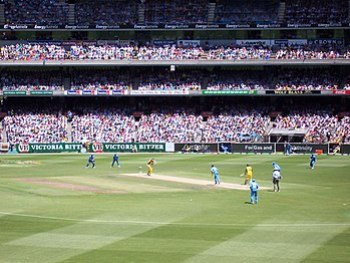 Australia v India 1st ODI at the MCG, Jan 2004