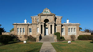 English: Cooma Court House. Cooma, New South W...
