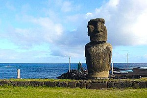 Diamond says Easter Island provides the best h...