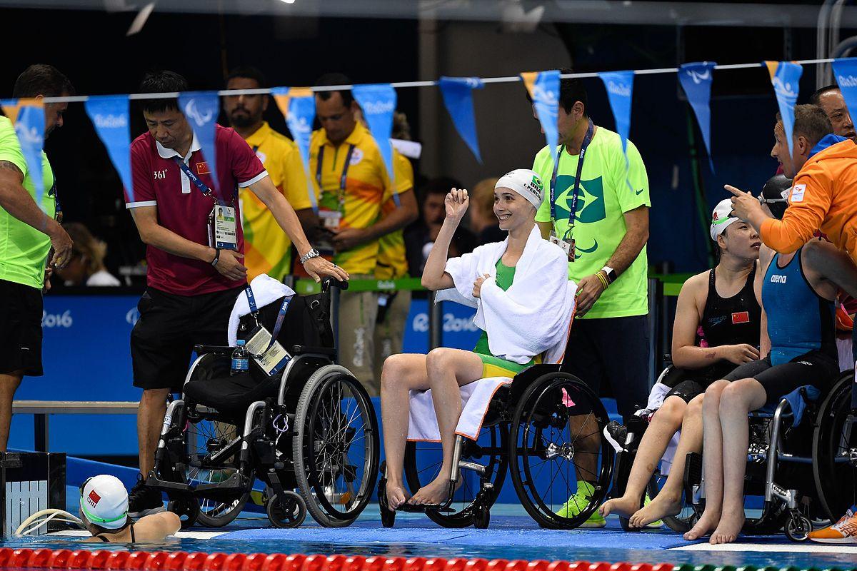 Nuoto ai XV Giochi paralimpici estivi  Wikipedia
