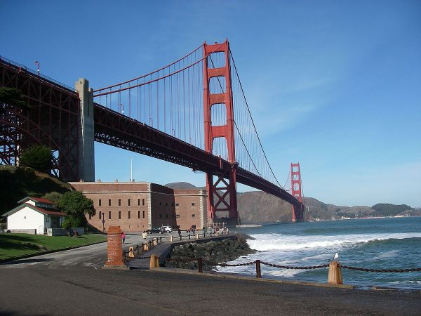 Fort Point San Francisco Golden Gate Bridge
