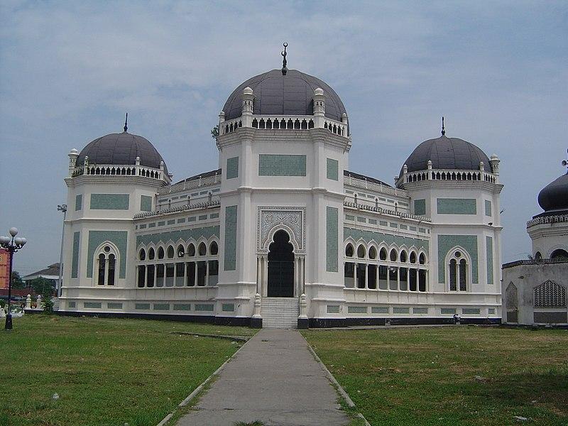 Kota Medan, Masjid Raya Medan, Masjid Agung, Masjid di Medan, Pusat ibadah,