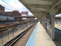 Harlem Station Cta Blue Line Congress Branch - Wikipedia