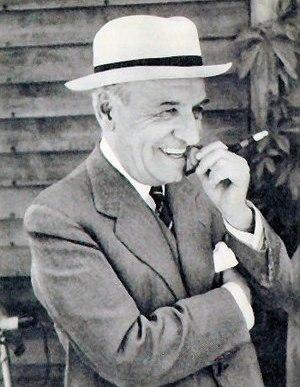 Ortega y Gasset en un fotografía tomada por la...