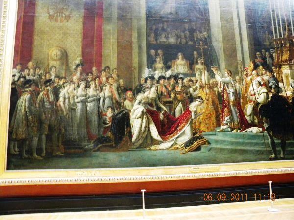 File Louvre Museum Napoleon Josephine Notre Dame Cathedrale Painting Louis David Paris