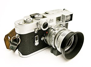 Leica M4 with Summicron 50mm f/2 and gogles fo...