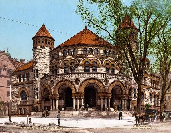 File Osborn Hall Yale College Haven Connecticut