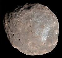 Citra Phobos yang diabadikan oleh Mars Reconnaissance Orbiter – HiRISE pada 23 Maret 2008