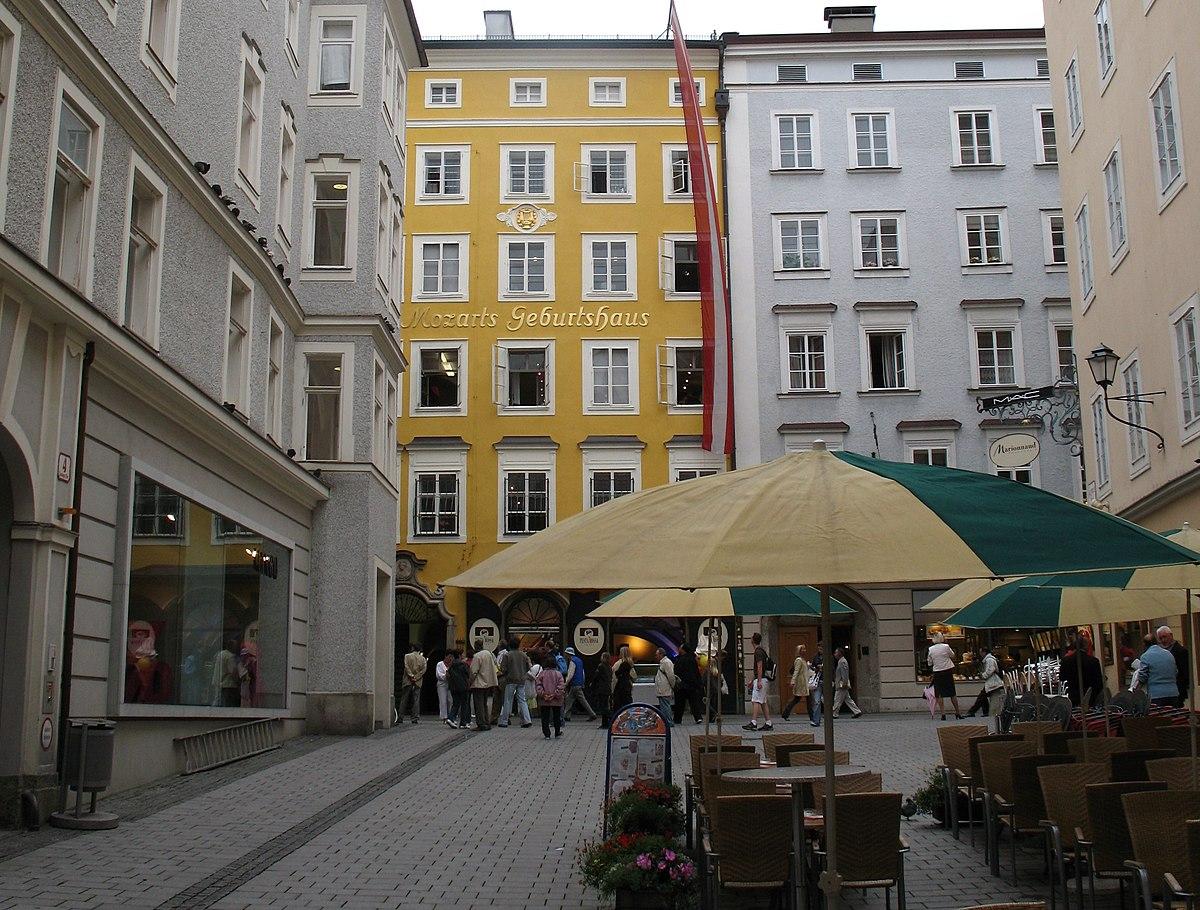 Geboortehuis van Mozart  Wikipedia