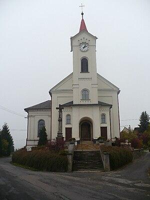English: Svébohov local church
