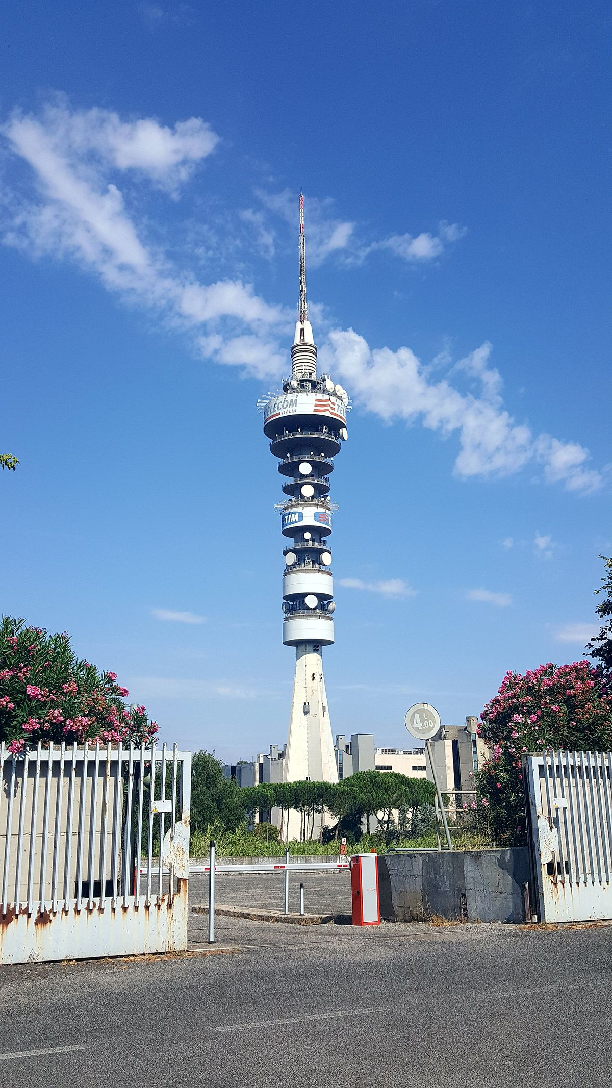 Torre Telecom Italia Roma  Wikipedia