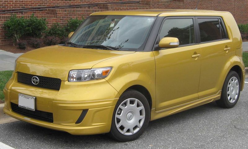 Genial Doesnu0027t Get Much Worse Than A Scion XB In Baby Shit Gold.