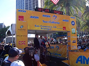 Deutsch: Amgen als Sponsor der Tour of California
