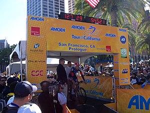 Deutsch: Amgen als Sponsor der Tour of California