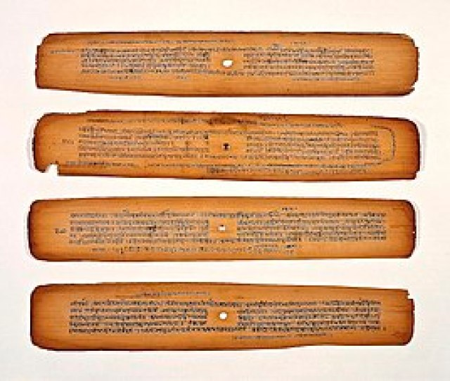 Bhagavata Purana Manuscripts From 16th To 19th Century In Sanskrit Above And In Bengali Language