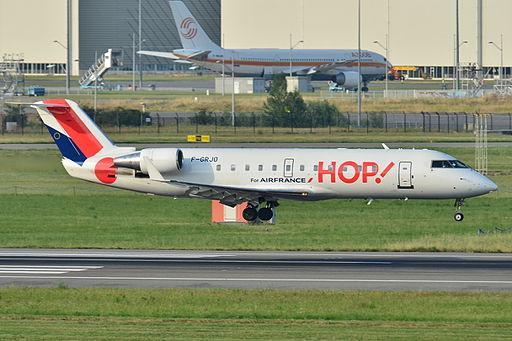 Canadair Bombardier CRJ-100ER Hop! (HOP) F-GRJO - MSN 7296 (9279555532)