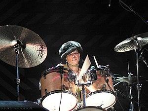 English: Cindy Blackman plays at Willisau Jazz...