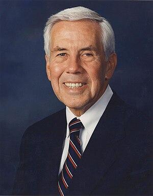 Dick Lugar, U.S. Senator from Indiana.