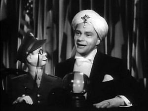 Cropped screenshot of Edgar Bergen with Charle...