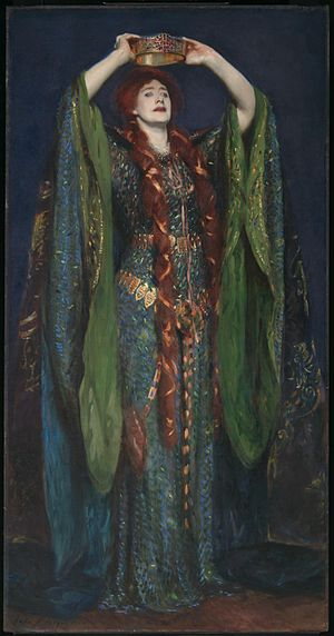 Ellen Terry as Lady Macbeth by John Singer Sar...