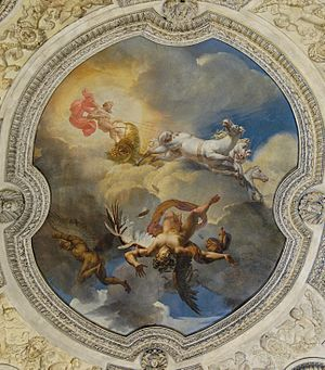 The Sun or the Fall of Icarus, 1819 (dated and...
