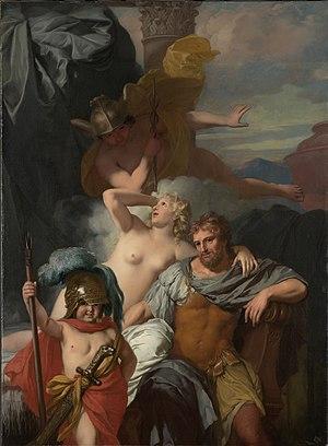 Gérard de Lairesse - Mercurius gelast Calypso ...