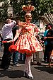 English: A drag queen at the 2008 Gay Pride in...