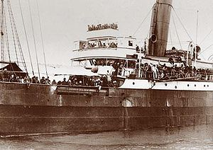 Photograph of the SS Komagata Maru