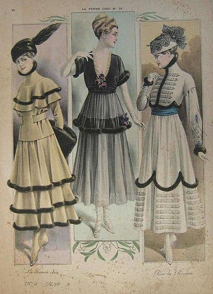 Istorija odevnih predmeta - Page 7 434px-La_Femme_Chic_No._84