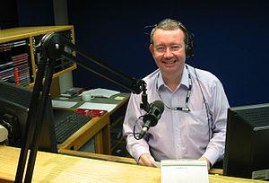 Picture of Matthew Price of BBC Radio Jersey t...