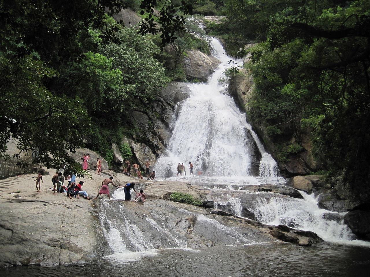 FileMonkey Falls CoimbatoreJPG  Wikimedia Commons