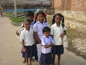 Parayar School Children
