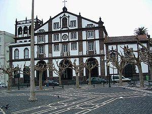 English: The Church of São José, as seen from ...