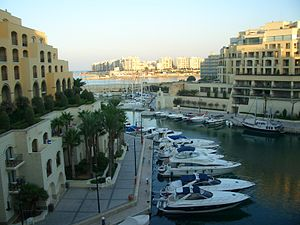 English: Marina at Portomaso, Malta.