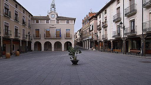 San Esteban de Gormaz. Plaza Mayor