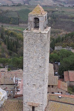 San Gimignano view from torre grossa 5