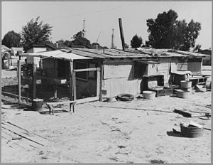 Shafter, Kern County, California. A view of th...