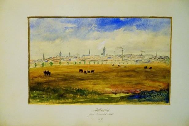 "State Library of Victoria - ""Melbourne from Emerald Hill"" by Robert Russell"