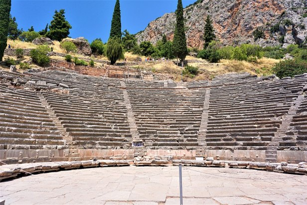 Theatre at Delphi by Joy of Museums