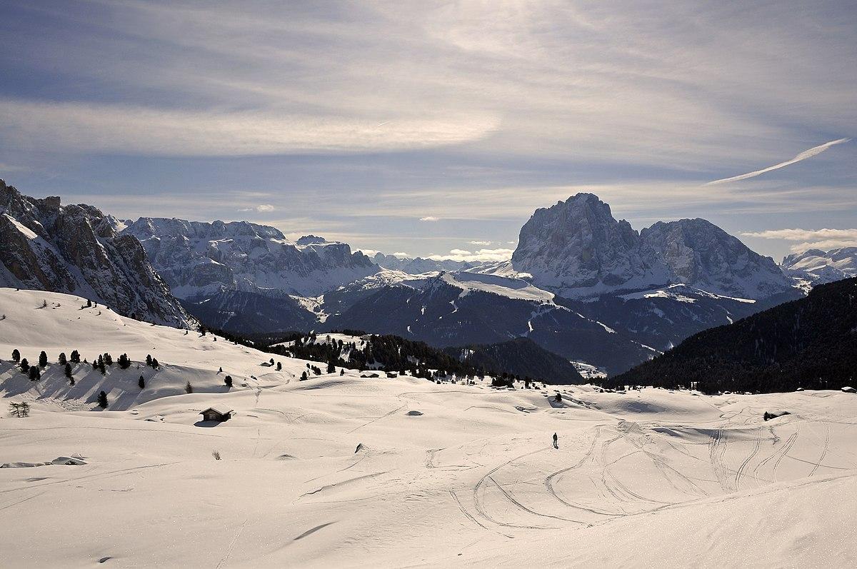 Val Gardena  Wikivoyage guida turistica di viaggio