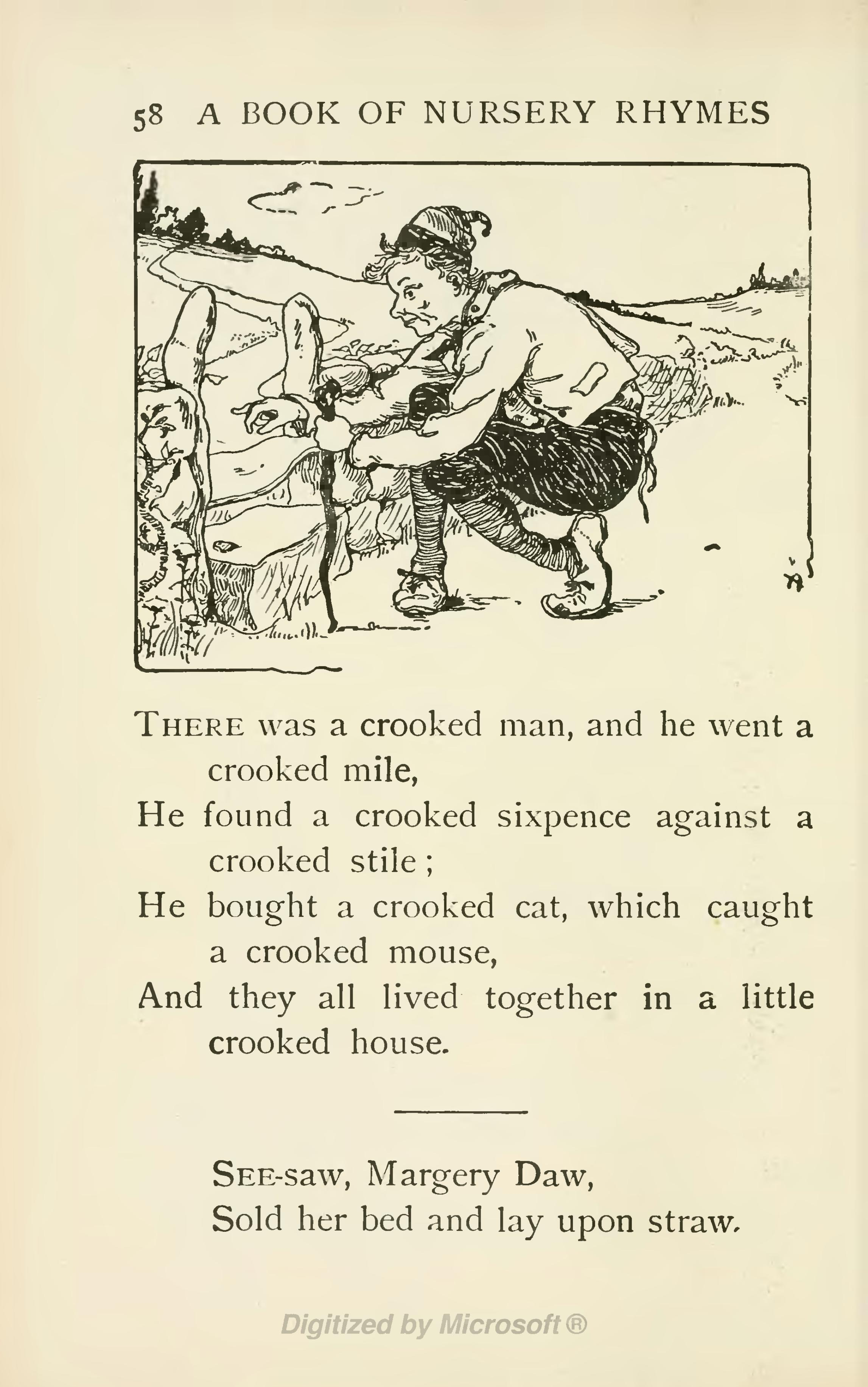 Page A Book Of Nursery Rhymes Vu 80