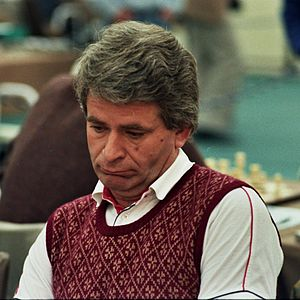 English: Boris Spasski, Chess Olympiad 1984 in...