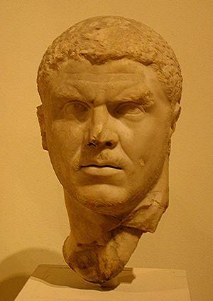 Bust of Caracalla, Met, New York City