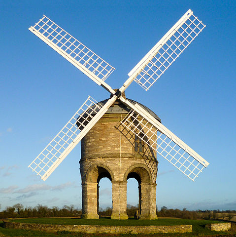Chesterton Windmill. Built in 1632.