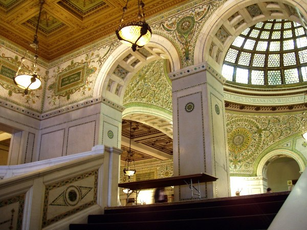 Chicago Cultural Center Preston Bradley Hall