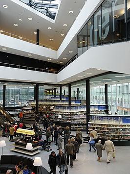 De nieuwe bibliotheek - vestiging Almere Stad