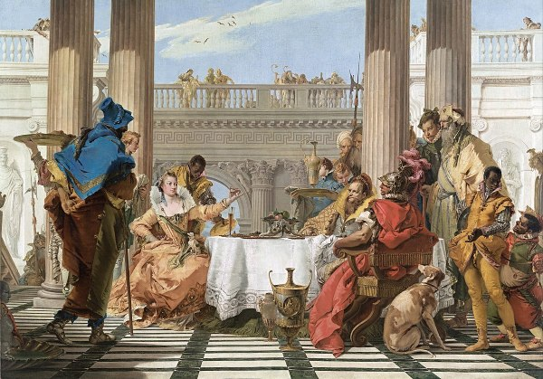 The Banquet of Cleopatra Wikipedia