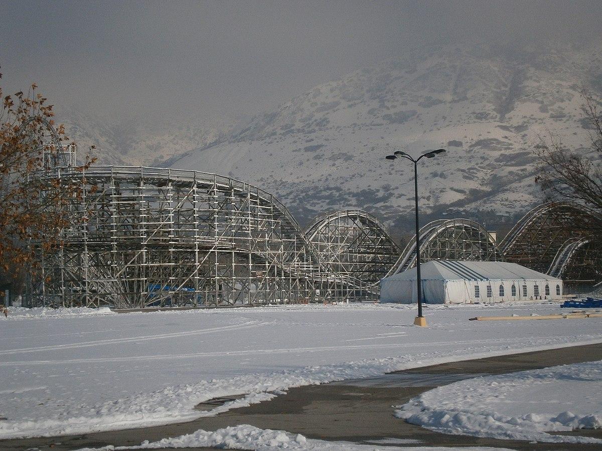 Roller Coaster Lagoon  Wikipedia