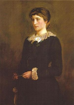 A Jersey Lily, portrait of Lillie Langtry