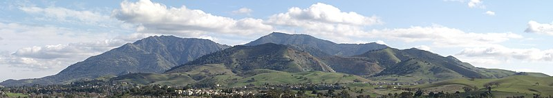 File:Mount Diablo Panoramic From Newhall.jpg